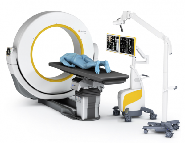 Brainlab neuronavigatie suite met peroperatieve AIRO CT